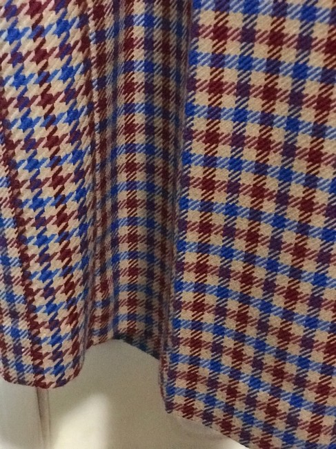 Tory Burch Trouser Pants Red and blue checkered Image 6
