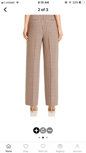 Tory Burch Trouser Pants Red and blue checkered Image 10