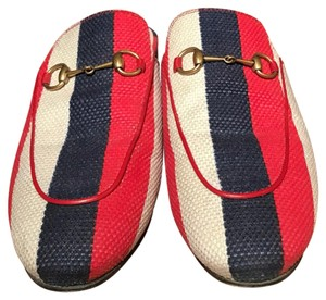 Gucci Red/Multi Flats