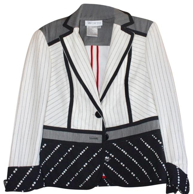 Preload https://img-static.tradesy.com/item/25552851/worth-cream-mixed-print-fabric-blazer-size-10-m-0-1-650-650.jpg