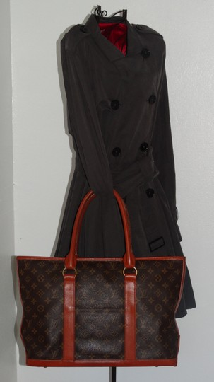 Louis Vuitton Vintage Sac Weekend French Co Tote in Brown Image 1