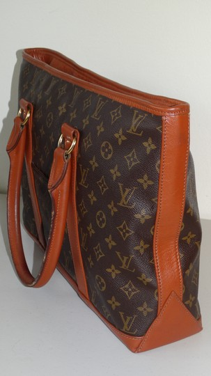 Louis Vuitton Vintage Sac Weekend French Co Tote in Brown Image 4