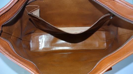 Louis Vuitton Vintage Sac Weekend French Co Tote in Brown Image 9