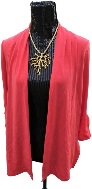 Chico's Coral Jacket Image 0