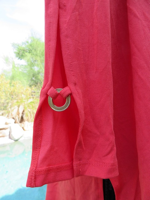 Chico's Coral Jacket Image 3