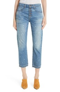 Veronica Beard Capri/Cropped Denim-Medium Wash