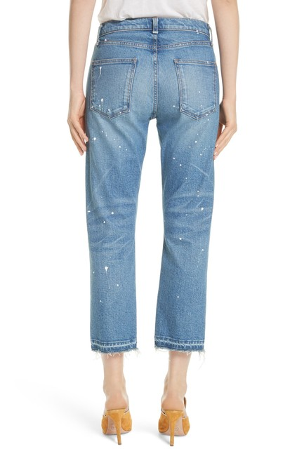 Veronica Beard Capri/Cropped Denim-Medium Wash Image 1