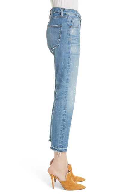 Veronica Beard Capri/Cropped Denim-Medium Wash Image 2