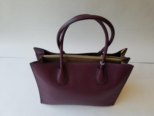 Michael Kors Tote in Plum Image 1
