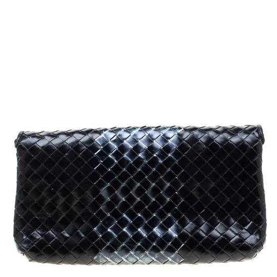 Bottega Veneta Leather Black Clutch Image 1