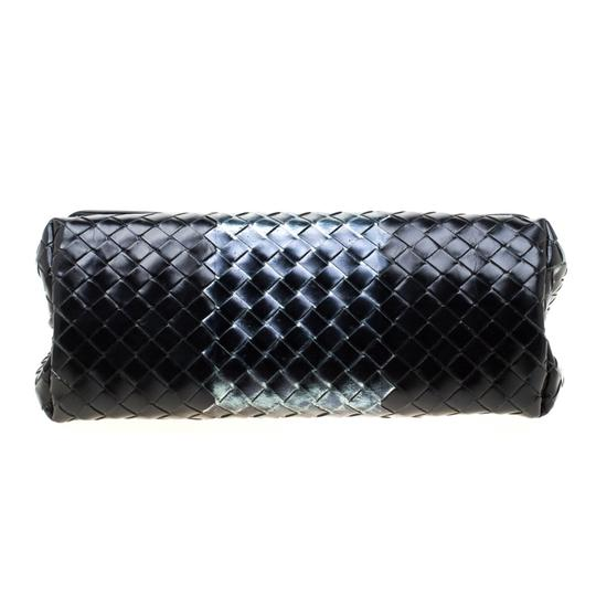 Bottega Veneta Leather Black Clutch Image 4