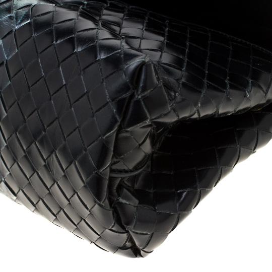 Bottega Veneta Leather Black Clutch Image 5