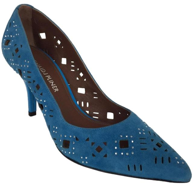 Item - Turquoise New Pointed Toe High Heels Pumps Size US 6 Regular (M, B)