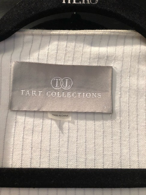 Tart Collections white and grey Blazer Image 2