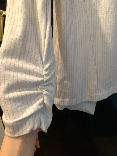Tart Collections white and grey Blazer Image 4