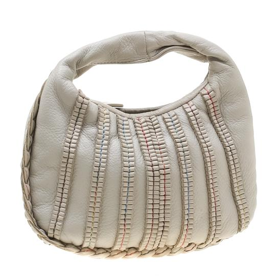 Bottega Veneta Leather Hobo Bag Image 3