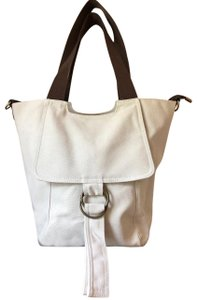 Other Canvas Off-white Lightweight Tote in Ivory