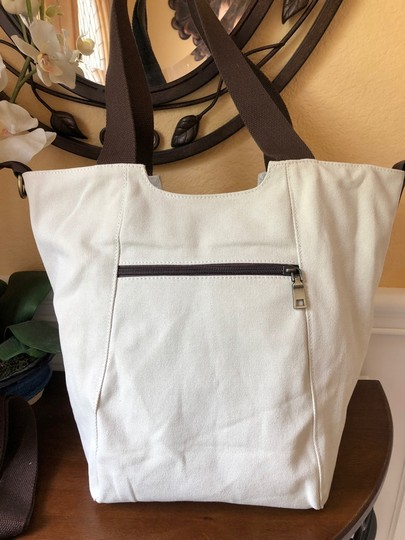 Other Canvas Off-white Lightweight Tote in Ivory Image 1