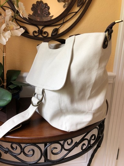 Other Canvas Off-white Lightweight Tote in Ivory Image 2