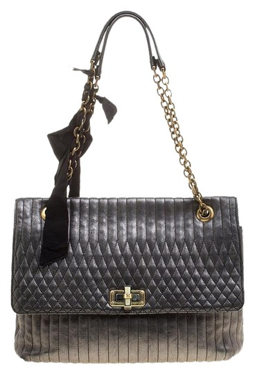 Preload https://img-static.tradesy.com/item/25553178/lanvin-quilted-happy-metallic-grey-leather-shoulder-bag-0-1-540-540.jpg