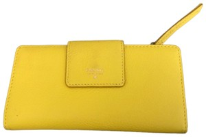 Fossil Yellow Wallet by Fossil