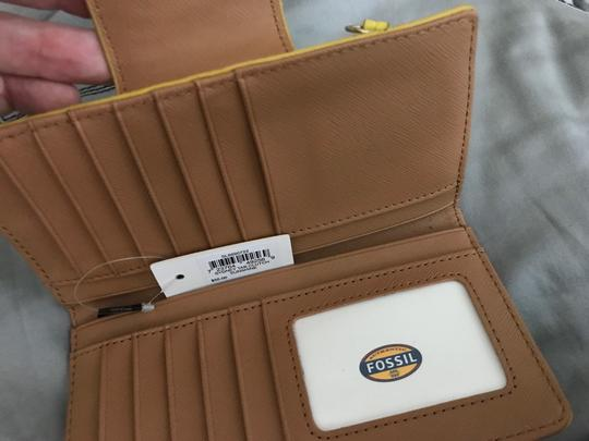 Fossil Yellow Wallet by Fossil Image 1
