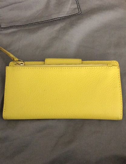 Fossil Yellow Wallet by Fossil Image 2