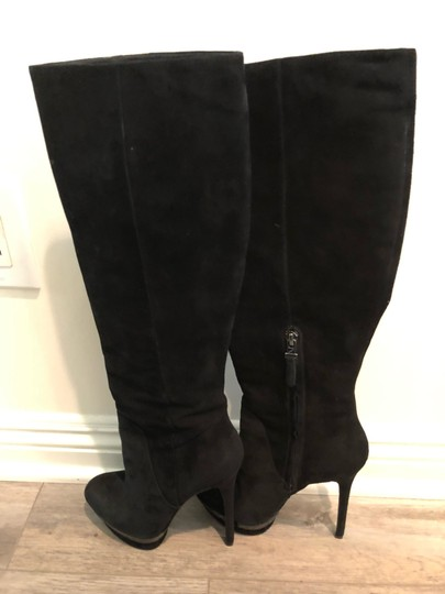 Brian Atwood black Boots Image 2