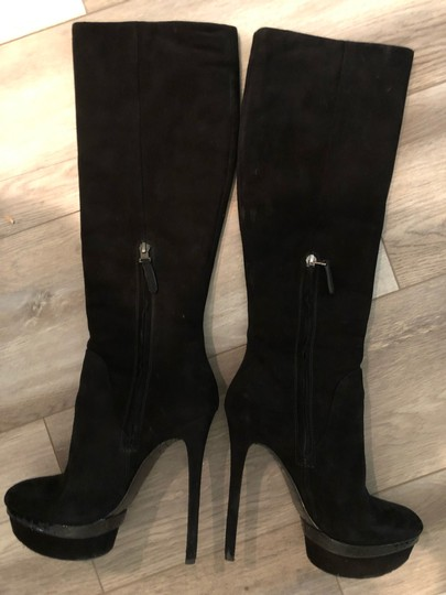 Brian Atwood black Boots Image 8