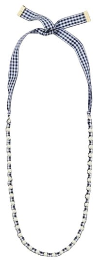 Preload https://img-static.tradesy.com/item/25553239/kate-spade-navywhite-multi-new-pretty-pearly-gingham-ribbon-long-necklace-0-4-540-540.jpg