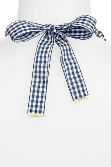 Kate Spade NEW Pretty Pearly Gingham Ribbon Long Image 2