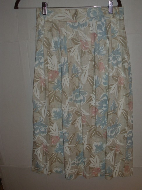winsome New York Retro Peasant 70s 80s 90s Skirt Pastel Image 5