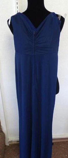 Alfred Angelo Charcoal 8111l Traditional Bridesmaid/Mob Dress Size 6 (S) Image 1