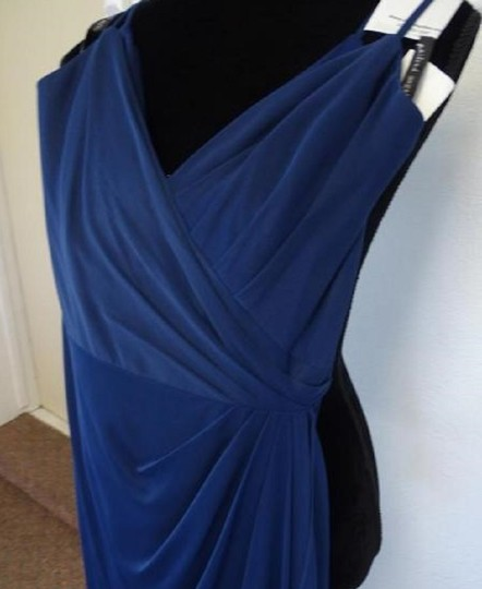 Alfred Angelo Charcoal 8111l Traditional Bridesmaid/Mob Dress Size 6 (S) Image 3