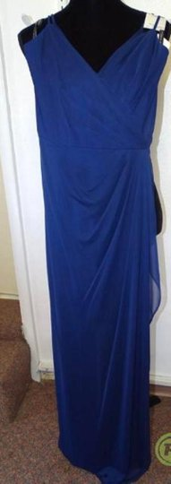 Alfred Angelo Charcoal 8111l Traditional Bridesmaid/Mob Dress Size 6 (S) Image 5
