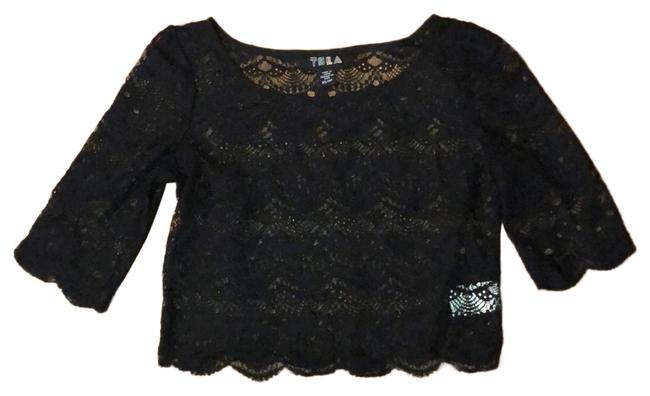 Preload https://img-static.tradesy.com/item/25553264/tela-black-urban-outfitters-lace-crop-tunic-size-2-xs-0-1-650-650.jpg