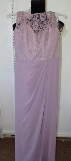 Alfred Angelo Lilac 7407 Traditional Bridesmaid/Mob Dress Size 8 (M) Image 5