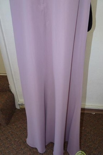 Alfred Angelo Lilac 7407 Traditional Bridesmaid/Mob Dress Size 8 (M) Image 6
