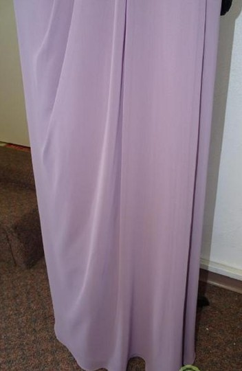 Alfred Angelo Lilac 7407 Traditional Bridesmaid/Mob Dress Size 8 (M) Image 7