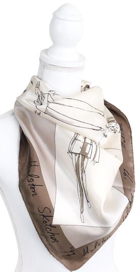 Preload https://img-static.tradesy.com/item/25553304/halston-tan-sketches-97-scarfwrap-0-1-540-540.jpg