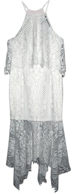 Item - White Revolve Clothing Lace Midi New Mid-length Night Out Dress Size 8 (M)