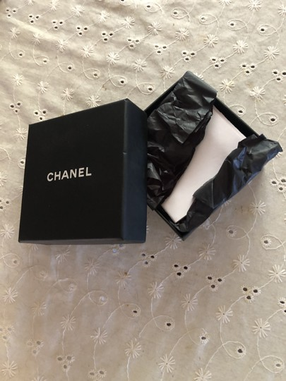 Chanel Gorgeous Authentic WIDE CHANEL BRACELET Classic Leather Chain Band Image 8