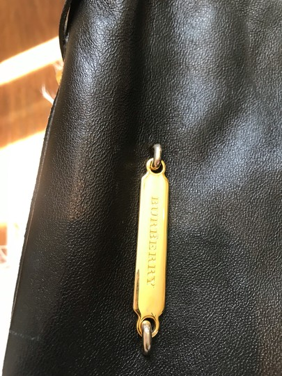 Burberry Tote in Black Image 4
