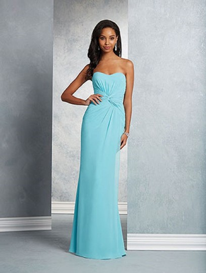 Alfred Angelo Once Upon A Time 7405 Traditional Bridesmaid/Mob Dress Size 14 (L) Image 8