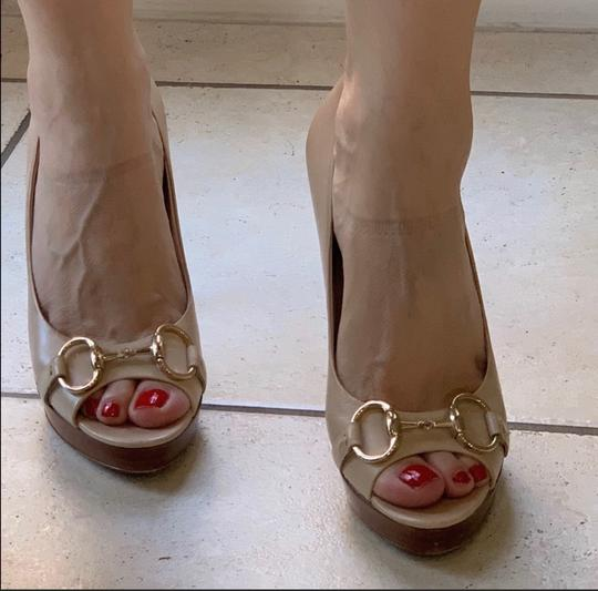 Gucci cream/beige Platforms Image 1