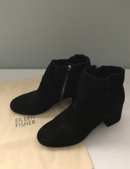 Eileen Fisher Black Boots Image 9