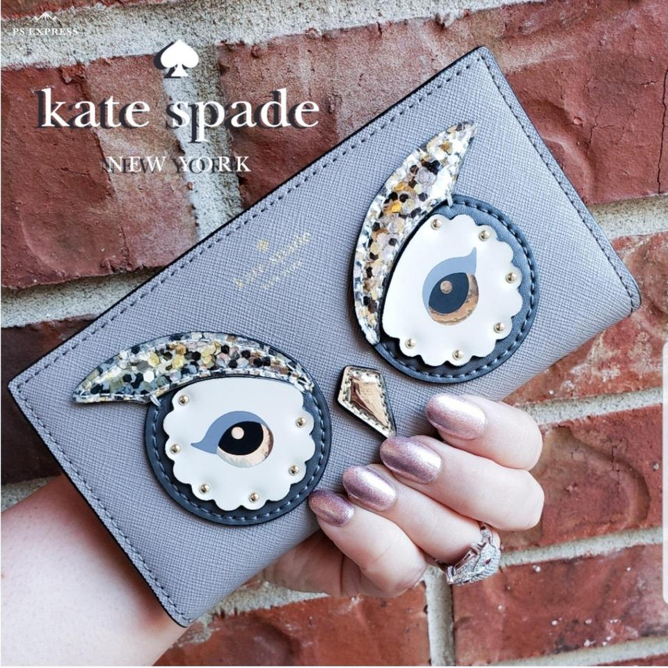 Gray Stacy Owl City Wallet