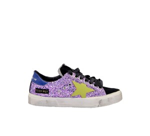 Golden Goose Deluxe Brand Sneakers G35ws127l9 Purple Athletic