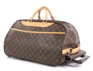Louis Vuitton Lv Eole Rolling Luggage Duffle Keepall Bandouliere Monogram Travel Bag