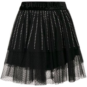 Philipp Plein Mini Skirt black